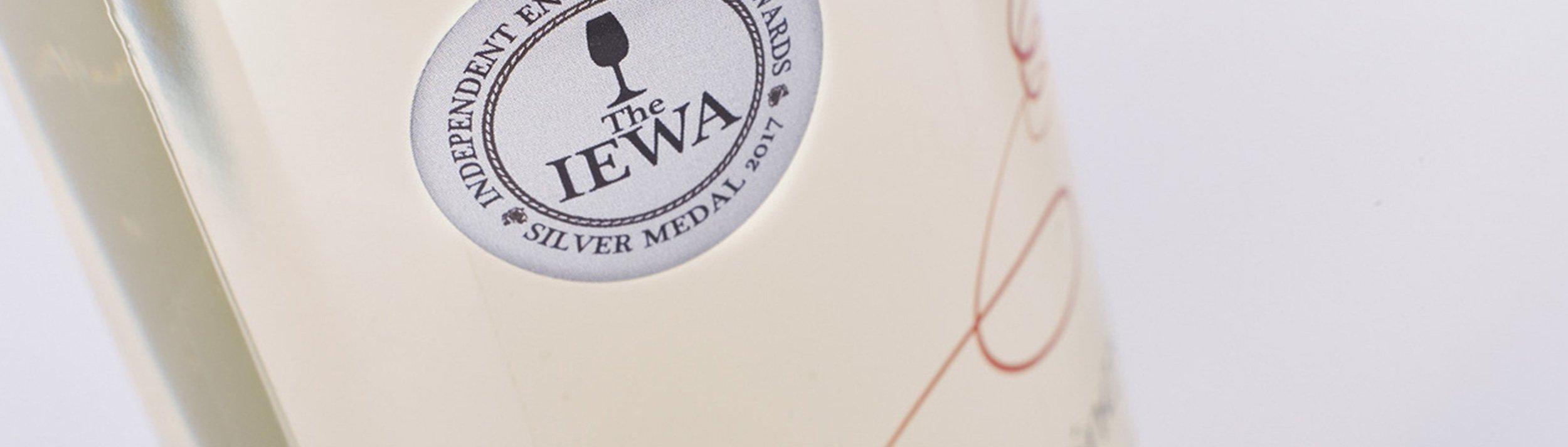 IEWA 2017 awards wine winner