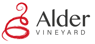 Alder vineyard logo type