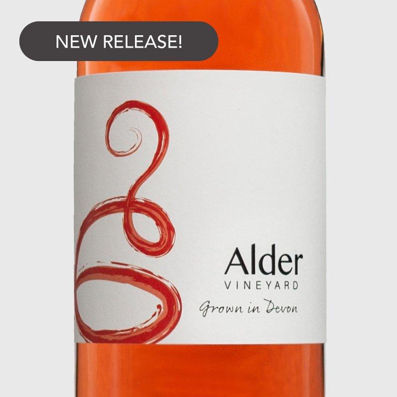 Rondo rosé from our Devon vineyard