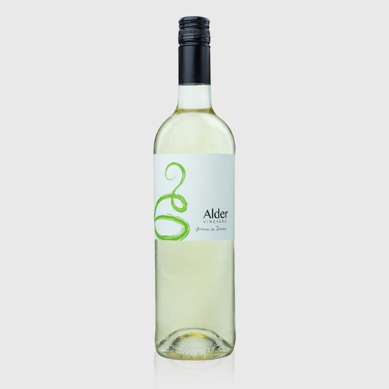 Madeleine Angevine bottle from our Devon vineyard