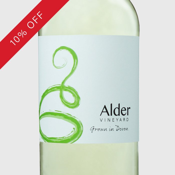 Our delicious white Devon wine - Madeleine Angevine