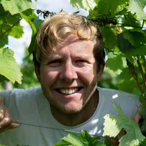 English wine on Dartmoor - Tom