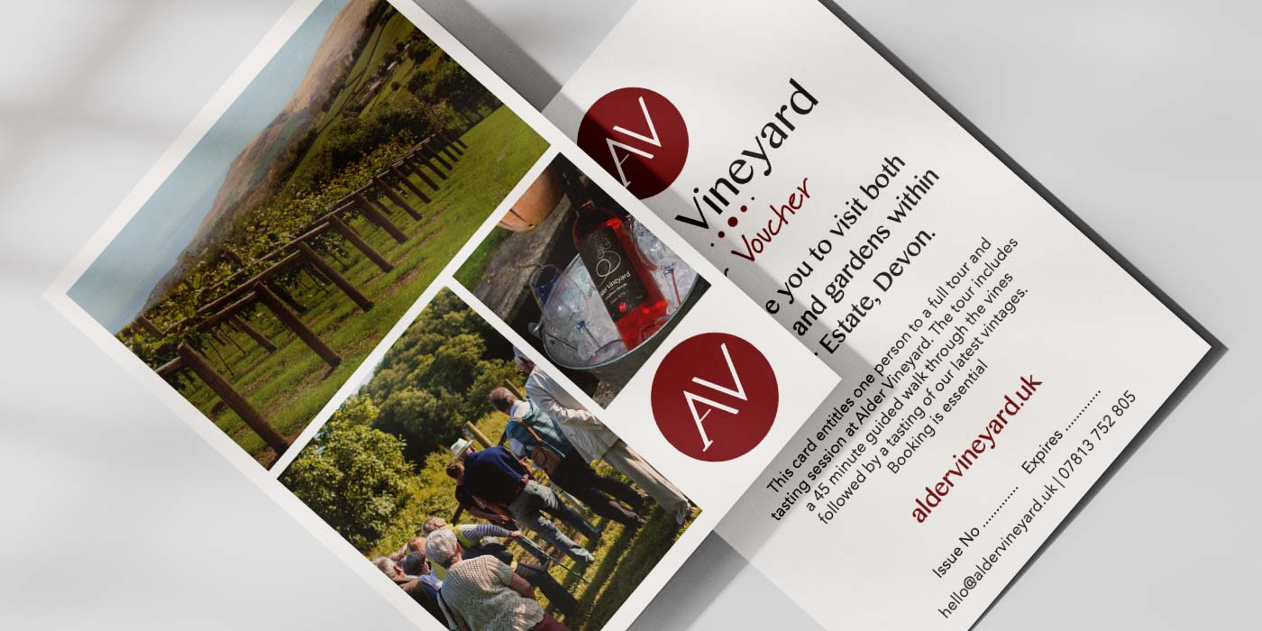Devon wine tasting & tour gift voucher