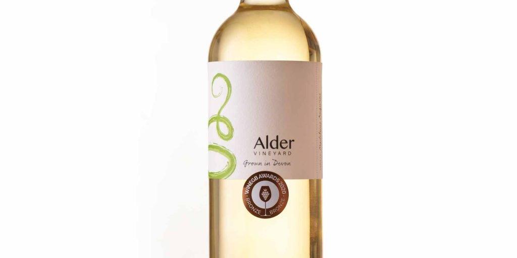 bronze at the WineGB 2020 awards - ALDER VINEYARD