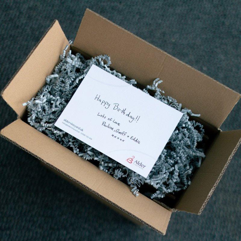 Gift note - gift box