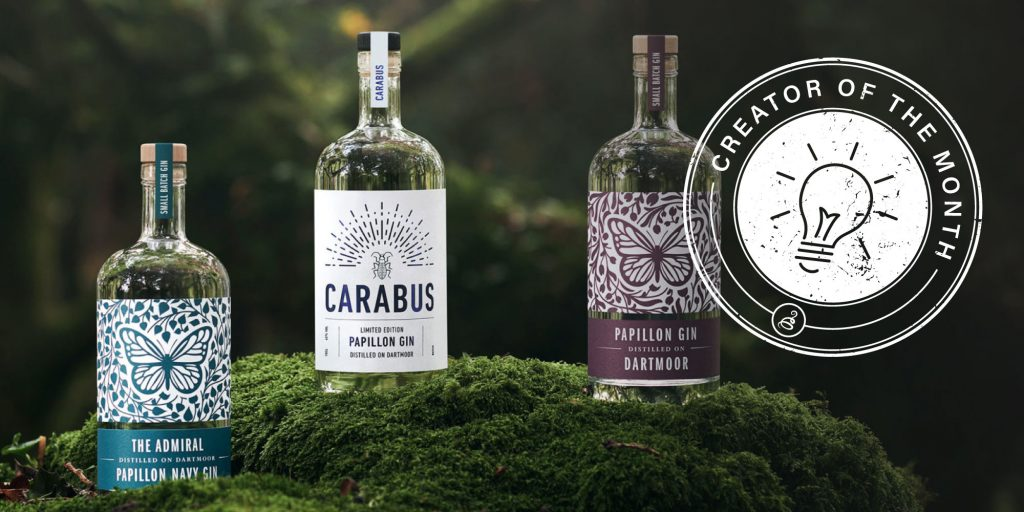papillon gin - creator of the month