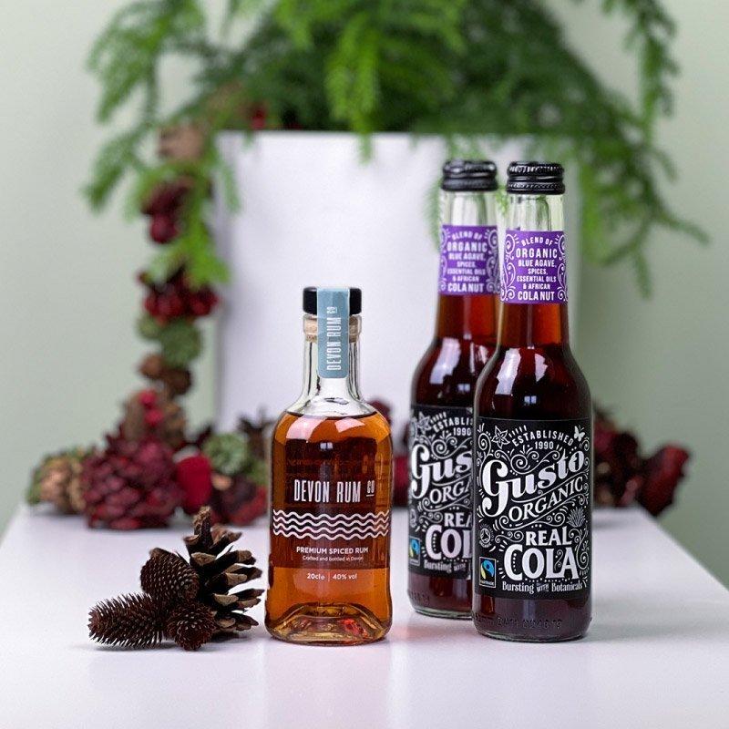 Devon rum gift set